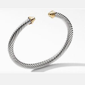 David Yurman Cable Classics Bracelet 14K Gold, 5mm